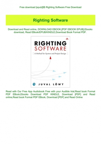 Free Download Epub Righting Software Free Download