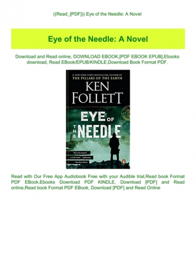 eye of the needle book free download