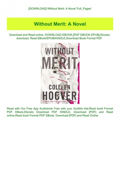 without merit colleen hoover free pdf download