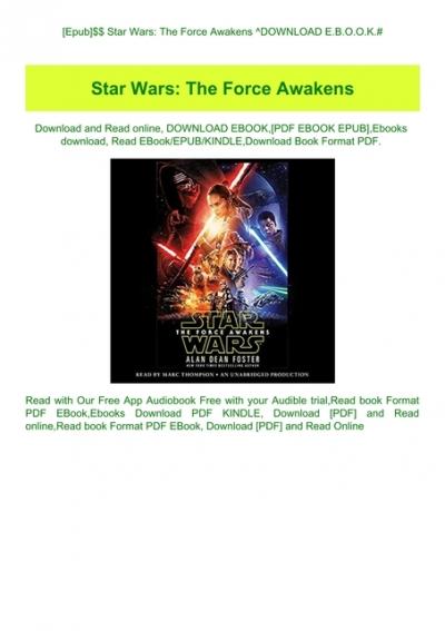 Star Wars The Rise Of Skywalker Novelization Pdf Download