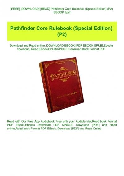 25+ Pathfinder Pdf Free Download Wallpapers
