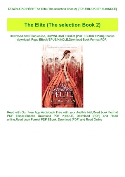 elite kiera cass pdf free download