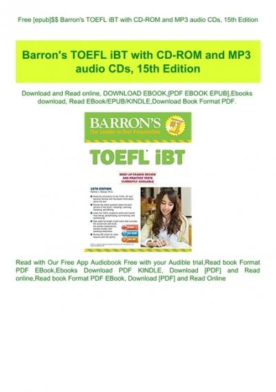 toefl ibt listening mp3 free download