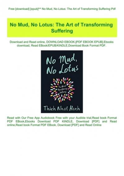 no mud no lotus pdf free download
