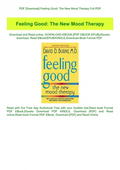 feeling good the new mood therapy ebook free download