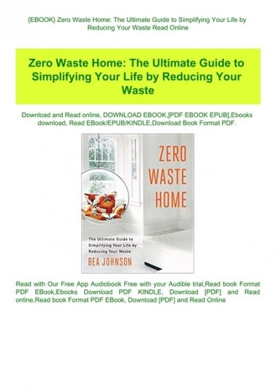 zero waste home pdf free download