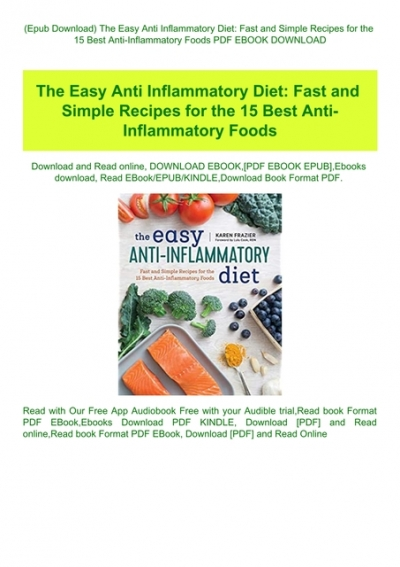 best anti inflammatory diet app