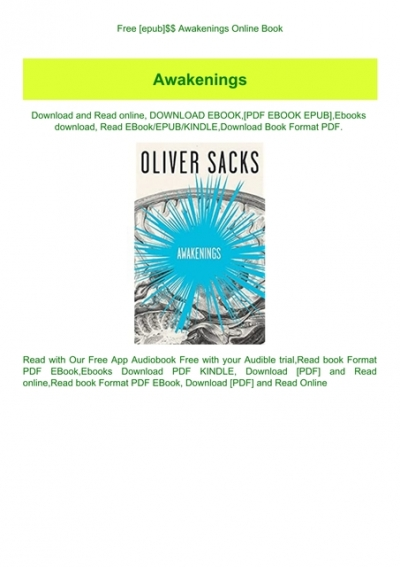 Free Epub Awakenings Online Book