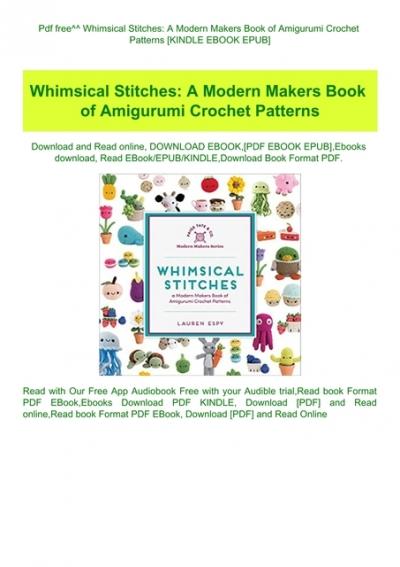 B4W.Book] Free Download Amigurumi Parent and Baby Animals: Crochet ... | 567x400