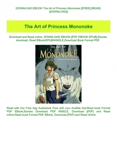 Download Ebook The Art Of Princess Mononoke Free Read Download