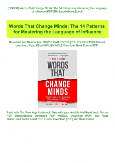 How To Change Minds PDF Free Download