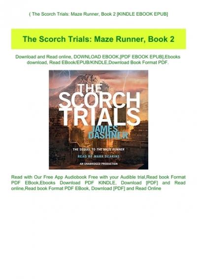 the maze runner book 2 free pdf