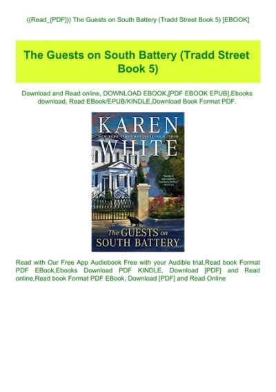 The Guests on South Battery PDF Free download