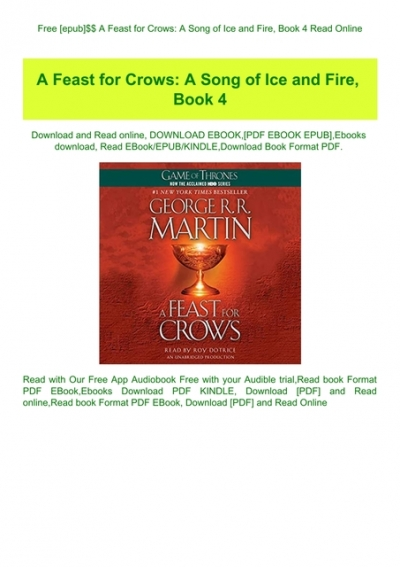 game of thrones book 4 pdf free