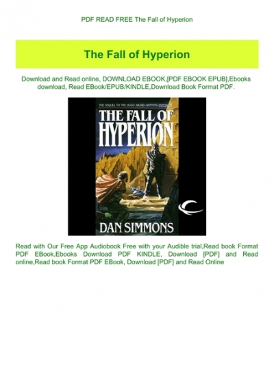 Dan simmons pdf hyperion download Hyperion