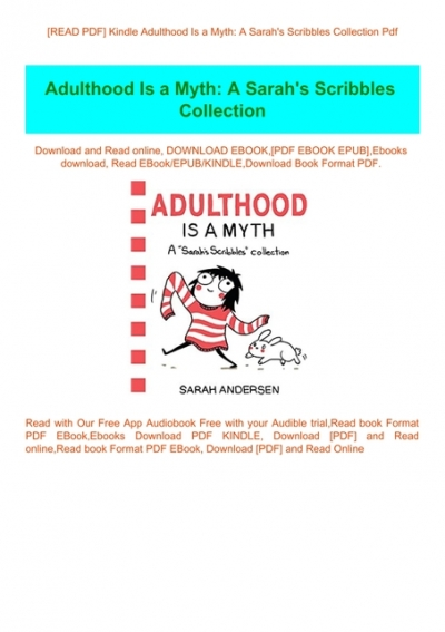 adulthood is a myth pdf free