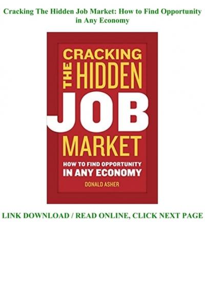 The hidden job market hotjobs