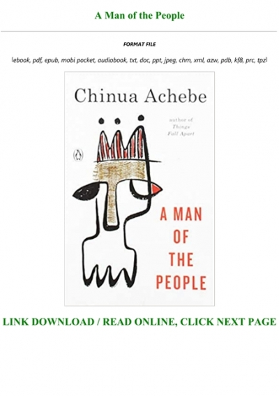 a man of the people free download chinua achebe