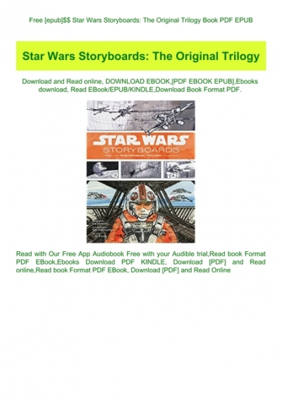 Free Epub Star Wars Storyboards The Original Trilogy Book Pdf Epub