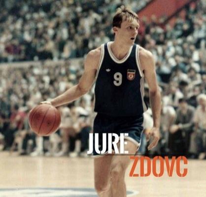 JURE ZDOVC - 101 Greats of European Basketball