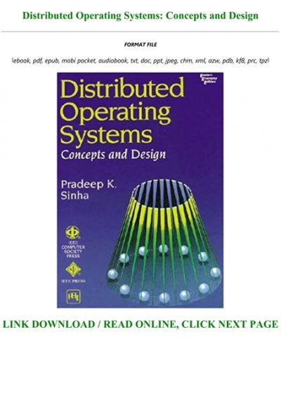 Download Pdf Distributed Operating Systems Concepts And Design Full Pdf