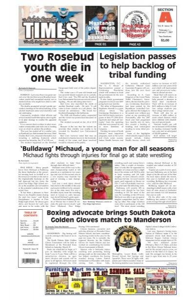 Two Rosebud Youth Die In One Week Lakota Country Times