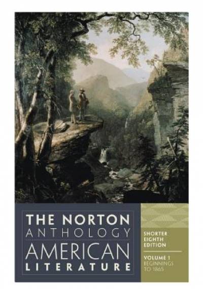 Pdf Download The Norton Anthology Of American Literature Shorter Eighth Edition Vol Volume 1 Full Format