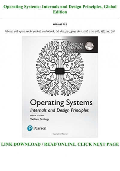 Download Operating Systems Internals And Design Principles Global Edition Full