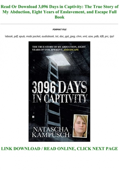 3,096 Days in Captivity PDF Free download