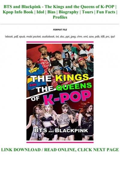 D O W N L O A D E Book Bts And Blackpink The Kings And The Queens Of K Pop Kpop Info Book Idol Bias Biography Tours Fun Facts Profiles Full Acces 2020 bts (방탄소년단) aka (bangtan boys) is an south korean male pop band. www yumpu com