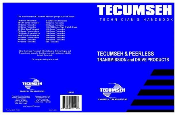 TECUMSEH PEERLESS Small Engine Suppliers