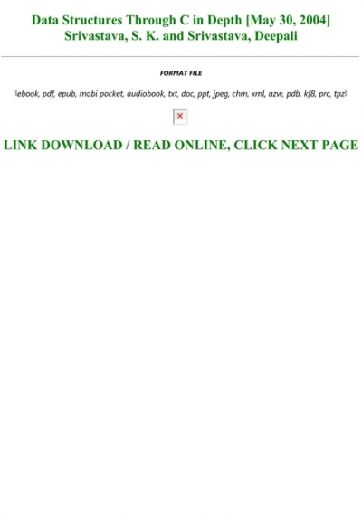 29+ Download C In Depth By Deepali Srivastav In Pdf  Pictures