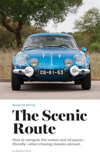 How To Buy A Classic Car In Europe