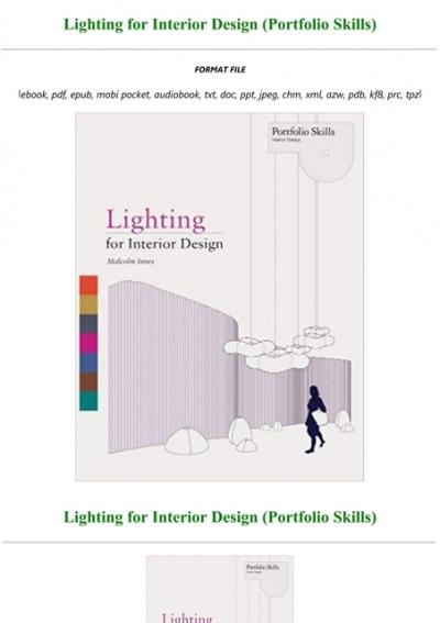 Pdf Download Lighting For Interior Design Portf