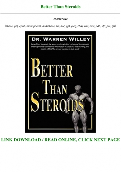 Better then steroids how do steroids help bronchitis