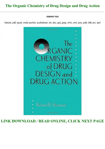 Free Download The Organic Chemistry Of Drug Design And Drug Action Full Pages