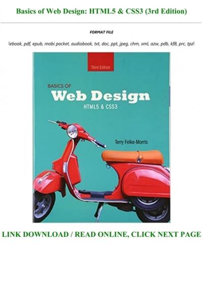 P D F Download Basics Of Web Design Html5 Css3 3rd Edition Full Pdf