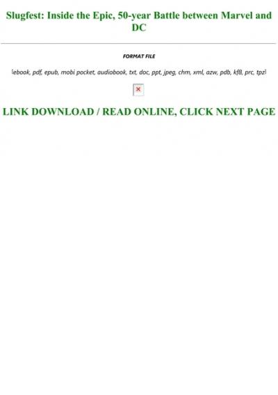 Slugfest PDF Free Download