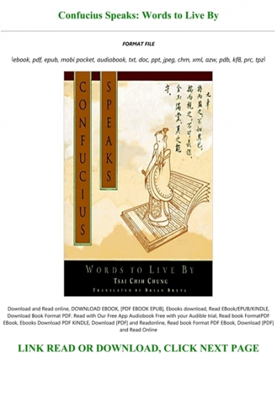 Confucius PDF Free Download