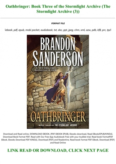 Download Oathbringer The Stormlight Archive 3 By Brandon Sanderson