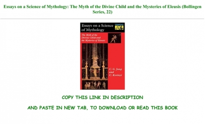 Essays on a science of mythology download thesis 1 4 1