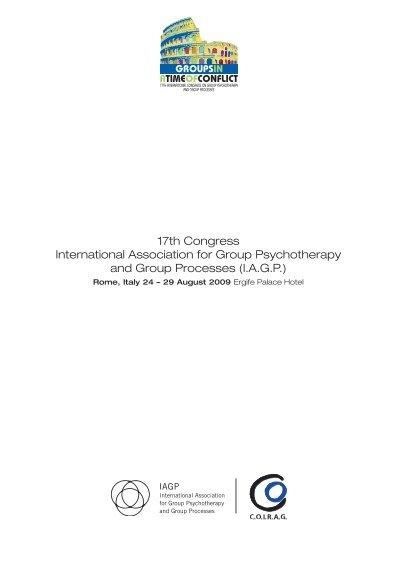 17th congress international association for group ... - iagp  yumpu