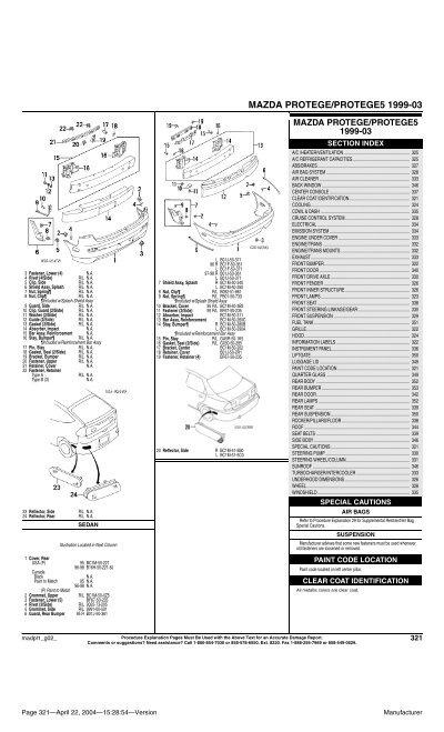 Mazda Protege Protege5 1999 03