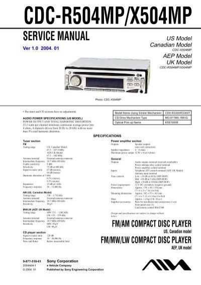 Aiwa Cdc X504mp Manual Pdf