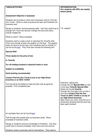 for students with ieps see weekly lesson plans alice stevens