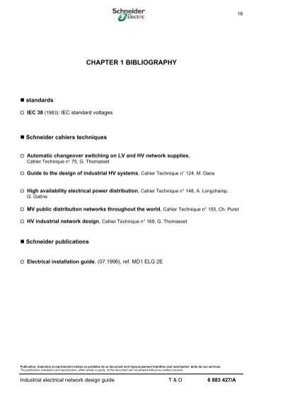 standards bibliograph rh yumpu com Industrial Electrical Symbols industrial electrical network design guide schneider