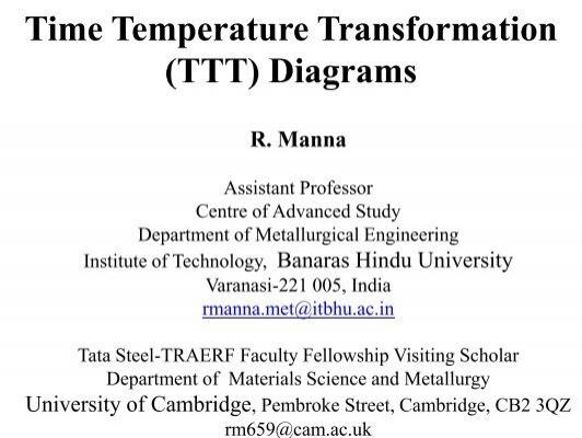 Time temperature transformation ttt diagrams department of time temperature transformation ttt diagrams department of ccuart Images