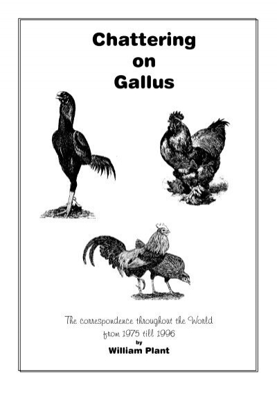 Chattering on Gallus - Summa gallicana