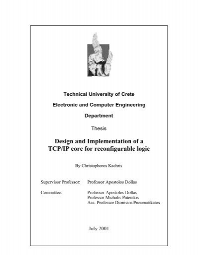 Tcp/ip thesis how to write patrick lewis in japanese