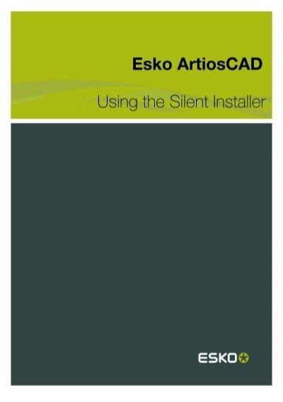 Esko Artios Cad For Mac